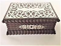 Delightful Silver Mounted Jewel Box
