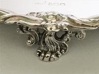 Fabulous Victorian Cast Silver Salver (7 of 8)