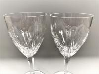 Fine Pair of Crystal Cut Glass Wine Goblets (4 of 5)