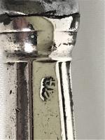 Irish Georgian Silver Meat Fork & Knife (4 of 4)