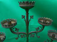 Three Tier Brass Candle Holder (2 of 4)