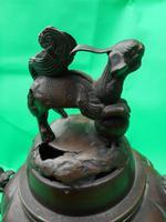 Japanese Bronze Koro (3 of 6)