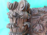17th Century Carved Wooden Fireplace (6 of 8)
