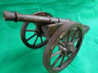 Wooden Model of a Field Cannon (3 of 4)