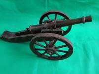 Wooden Model of a Field Cannon (2 of 4)