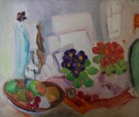 Still Life with Flowers by Margaret Harmsworth