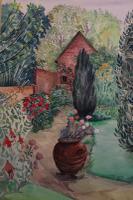 The Artists Garden by Joan Warburton