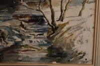 Sheep in a Winter Landscape by Edward Seago (5 of 10)