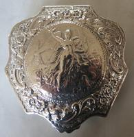 Nathan & Hayes - Fine Victorian Silver Trinket Box - Chester 1898