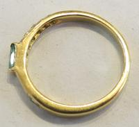 Mozafarian - Vintage Emerald, Diamond and 18ct Gold Ring - 1973 (4 of 14)