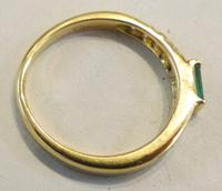 Mozafarian - Vintage Emerald, Diamond and 18ct Gold Ring - 1973 (3 of 14)
