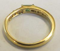 Mozafarian - Vintage Emerald, Diamond and 18ct Gold Ring - 1973 (2 of 14)
