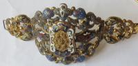 Russian or Austro-Hungarian 19th Century Bracelet or Sleeve Decoration
