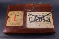 1920s / 1930s Chinese Travel Mah Jong Set in Leather Case