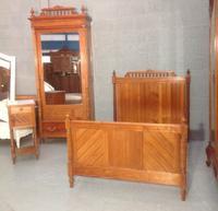 French Pine Bedroom Set c.1890