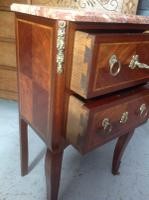 French Marble Top Inlaid Chest (6 of 12)