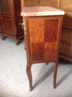 French Marble Top Inlaid Chest (4 of 12)