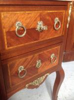 French Marble Top Inlaid Chest (7 of 12)