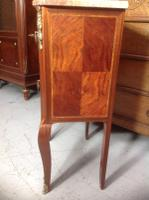 French Marble Top Inlaid Chest (3 of 12)
