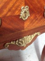 French Marble Top Inlaid Chest (9 of 12)