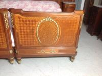 French Inlaid Emperor Bed (11 of 13)
