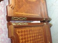 French Inlaid Emperor Bed (13 of 13)