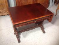 Mahogany French Sofa Table c.1880 (2 of 9)
