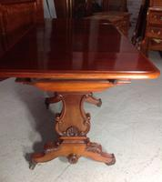 Mahogany French Sofa Table c.1880 (6 of 9)