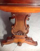 Mahogany French Sofa Table c.1880 (7 of 9)