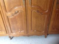 French Oak Carved Armoire (9 of 14)