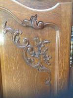 French Oak Carved Armoire (4 of 14)