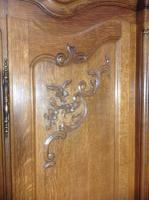 French Oak Carved Armoire (2 of 14)