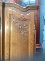 French Oak Carved Armoire (5 of 14)