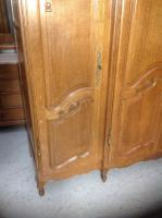 French Oak Carved Armoire (8 of 14)