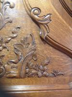 French Oak Carved Armoire (12 of 14)