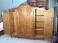 French Oak Carved Armoire (14 of 14)