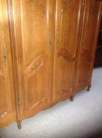 French Oak Carved Armoire (7 of 14)