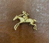 9ct Yellow Gold Horse & Jockey Charm / Pendant (2 of 2)
