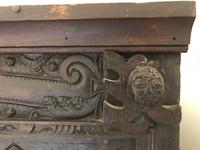 Excellent 17th Century Shropshire Hand Carved English Oak Court Cupboard (3 of 7)