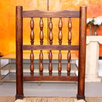 Georgian Dining Chair Carved Ash Rushwork (5 of 10)