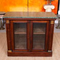 Pier Cabinet Marble Rosewood Glazed Bookcase (2 of 11)