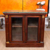 Pier Cabinet Marble Rosewood Glazed Bookcase (3 of 11)