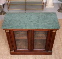 Pier Cabinet Marble Rosewood Glazed Bookcase (4 of 11)