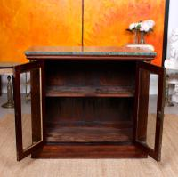 Pier Cabinet Marble Rosewood Glazed Bookcase (7 of 11)