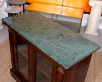 Pier Cabinet Marble Rosewood Glazed Bookcase (8 of 11)