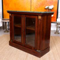 Pier Cabinet Marble Rosewood Glazed Bookcase (9 of 11)