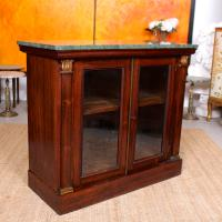 Pier Cabinet Marble Rosewood Glazed Bookcase (10 of 11)