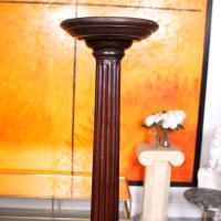 George III Torchiere 18th Century Mahogany Plant Stand (2 of 6)