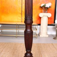 George III Torchiere 18th Century Mahogany Plant Stand (3 of 6)