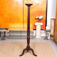 George III Torchiere 18th Century Mahogany Plant Stand (6 of 6)